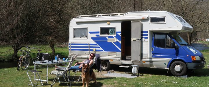 Erste Tour 2021: Camping Kautenbach in Luxemburg